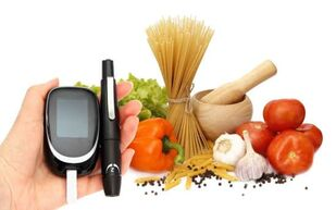 dietary features in diabetes mellitus